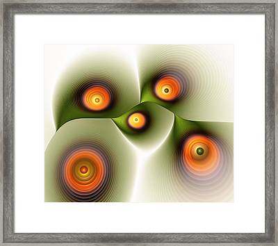 Being Smooth Framed Print