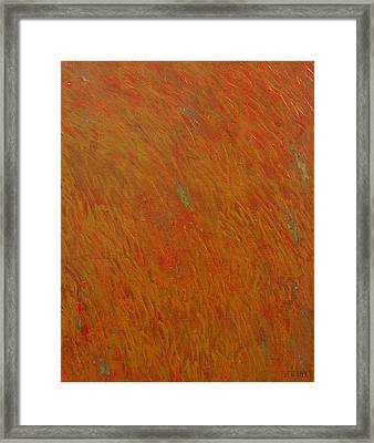 Being Swayed Framed Print by Jacob Stempky