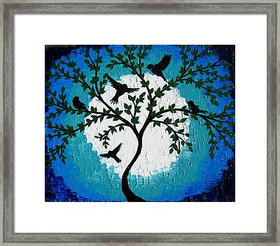 Being Together Framed Print by Cathy Jacobs