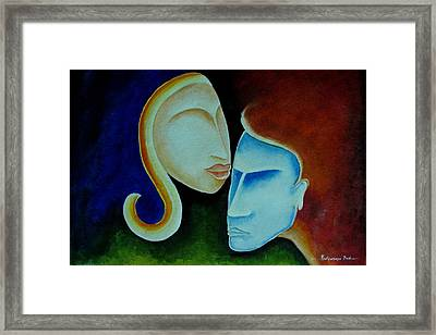 Being Together Framed Print