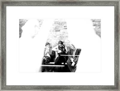 Being Watched Framed Print by Jez C Self