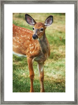 Being Young Framed Print