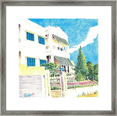Beit Nahas Framed Print