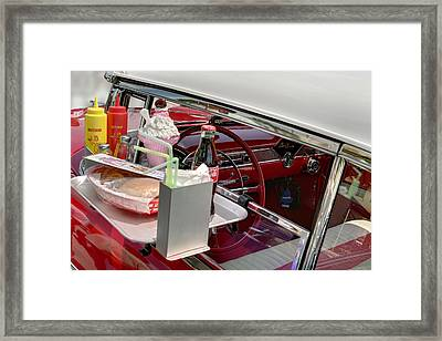 Bel Air 1956. Miami Framed Print