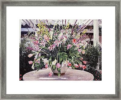 Bel-air Bouquet Framed Print