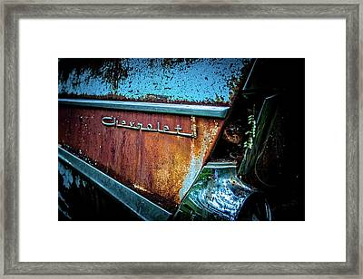 Bel Air Flair Framed Print