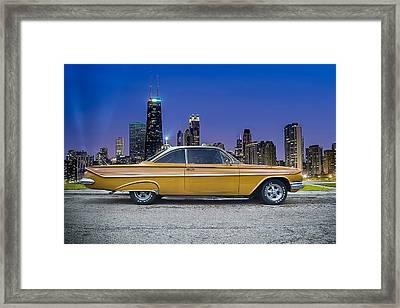 Bel Air In Chicago Framed Print by Darek Szupina Photographer