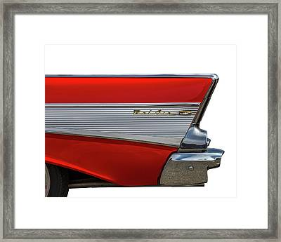 Framed Print featuring the photograph Bel Air by Peter Tellone