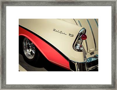 Framed Print featuring the photograph Bel Air Style by Caitlyn Grasso