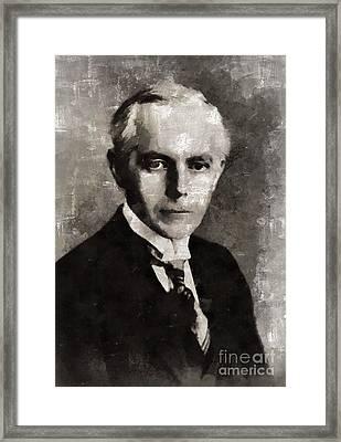 Bela Bartok, Composer By Mary Bassett Framed Print