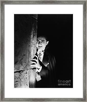 Bela Lugosi Dracula Framed Print
