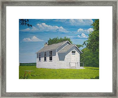 Belding School Framed Print by Norm Starks