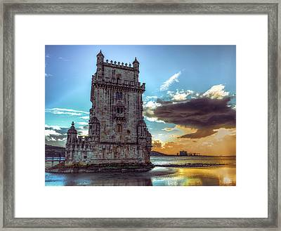 Belem Tower II Framed Print