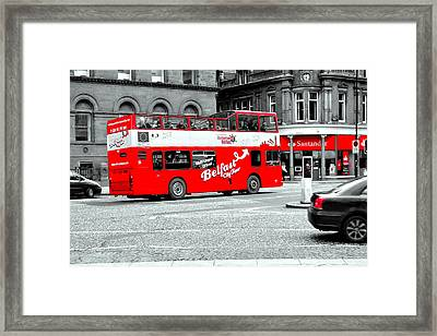 Belfast City Tour Framed Print