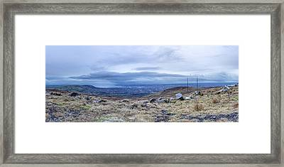 Belfast Lough From Divis Mountain Framed Print