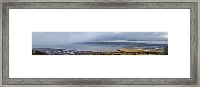 Belfast Lough  Framed Print