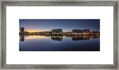Belfast Near The Docks Framed Print