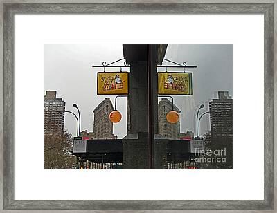 Belgian Beer Cafe Framed Print by Nishanth Gopinathan
