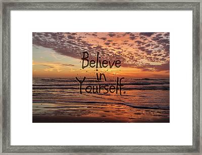 Believe  Framed Print by Betsy Knapp
