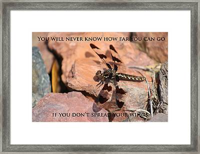 Believe Framed Print by Chris Mitchell