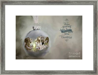 Believe In The Magic Of Christmas Framed Print