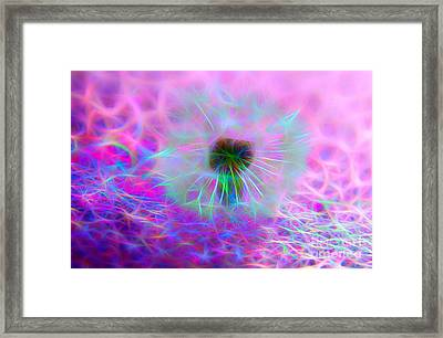 Believe In Your Wish Framed Print