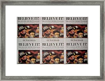 Believe It Framed Print by Frozen in Time Fine Art Photography