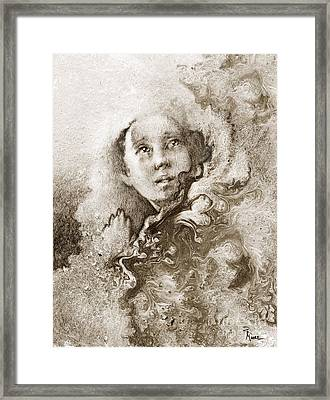 Believe Like I Believe Framed Print by Rick Moore