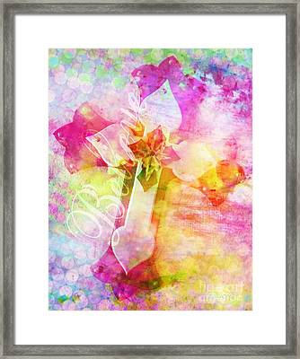 Believe O2 Framed Print
