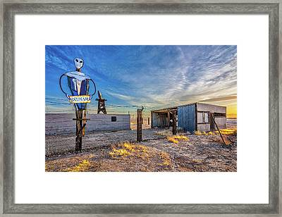 Believe Framed Print by Peter Tellone