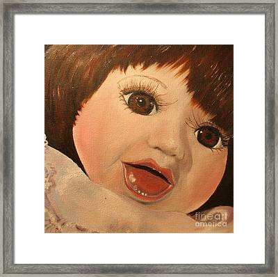 Framed Print featuring the painting Belinda by Jane Autry