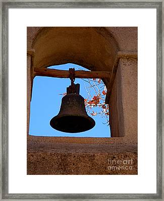 Bell Framed Print by Amy Strong