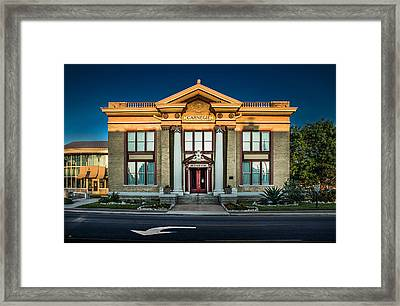 Bell County Museum Framed Print by Jim Painter