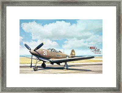 Bell P-39 Airacobra Framed Print