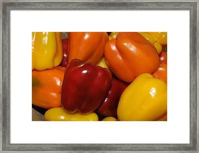 Bell Peppers 2 Framed Print