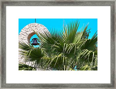Framed Print featuring the photograph Bell by Ray Shrewsberry
