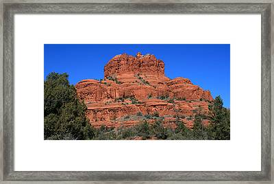 Bell Rock Framed Print