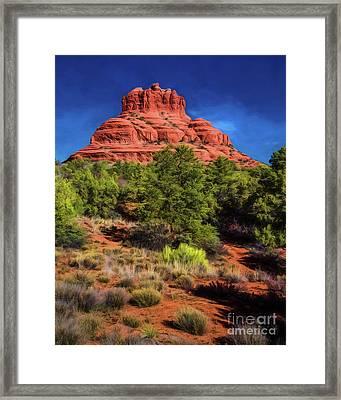 Bell Rock Dream Framed Print