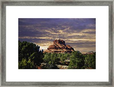 Bell Rock In Hdr Framed Print by Frank Feliciano