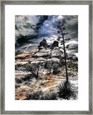 Framed Print featuring the photograph Bell Rock by Jim Hill