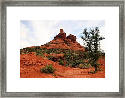Bell Rock Framed Print by Kristin Elmquist