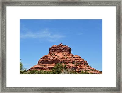 Bell Rock Of Sedona Arizona Framed Print by Matthew Klein