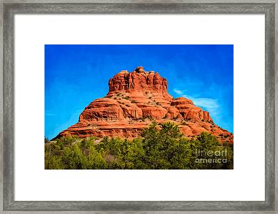 Bell Rock Tower Framed Print