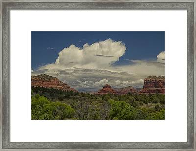 Bell Rock's Beauty Framed Print