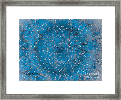 Bell-shaped Flowers Framed Print by Moustafa Al Hatter