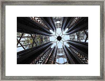 Bell Tower Framed Print by Nathan Grisham