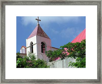Bell Tower Framed Print by Richard Mansfield