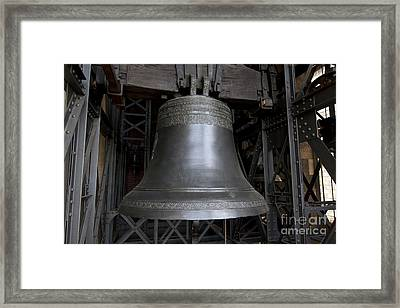 Bell Wenceslav In Cathedral Of St Vitus Framed Print by Michal Boubin