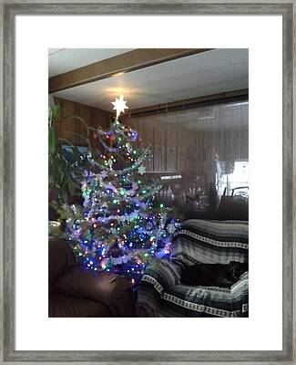 Framed Print featuring the photograph Bella Christmas 2013 by Jewel Hengen