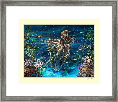 Bella Donna Tryptic Framed Print